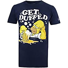 Simpsons Herren T-Shirt Get Duffed