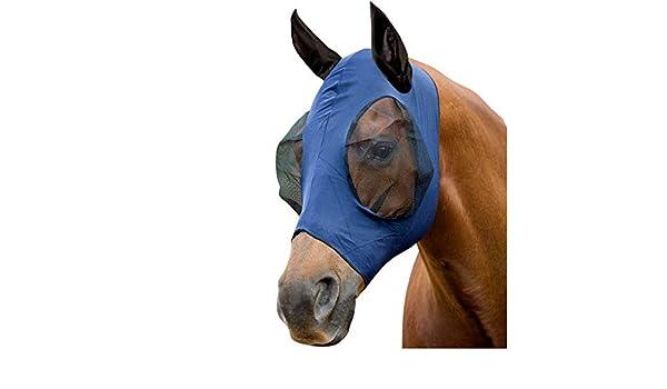 Professionals Choice ProfCoice Comfort Fit Fly Mask Fliegenmaske Black M