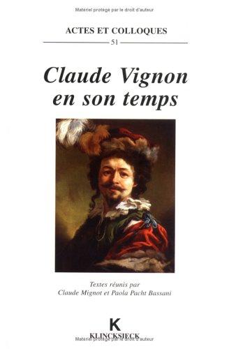 Claude vignon en son temps