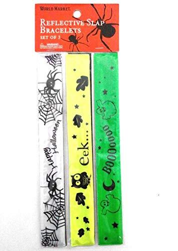 (LK Trend & Style 10 Sets ( = 30 Armbänder) Halloween Kinder Schmuck Armband Schnapparmband leuchtet bei Dunkelheit)