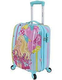 Disney Barbie 41 cm ABS Hard Sided Kids Cabin Luggage - Trolley/Travel/Tourist Bags (Humpy Dumpty), Green