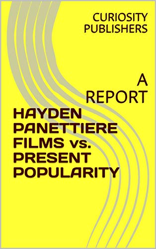 HAYDEN PANETTIERE FILMS vs. PRESENT POPULARITY: A REPORT (English Edition) (Message Bottle A In Necklace)