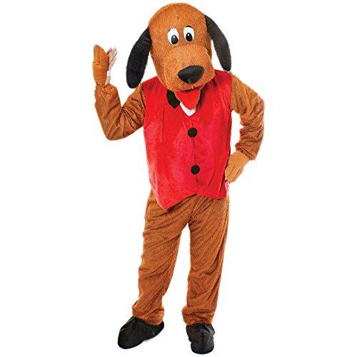 Spassprofi Tierkostüm Vollkostüm Hund Größe (F) 48-52 (M) 48-54 Tier Kostüm Hundekostüm Theaterkostüm