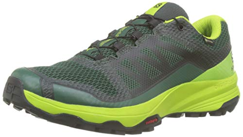 Salomon XA Discovery GTX, Zapatillas de Trail Running para Hombre, Verde Trekking Green Lime Green Black...