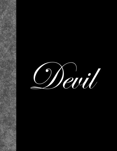 Devil: Lined Notebook, 144 pages