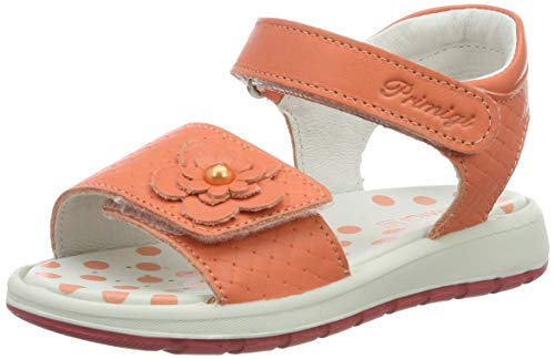 PRIMIGI Baby Mädchen PAK 33789 Sandalen, Orange (Corallo 3378911), 26 EU - Orange Kinder Sandalen