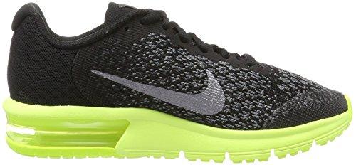 747560ac625a7 Nike Air Max Sequent 2 - Black Volt Anthracite Kids