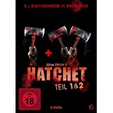 Adam Greens Hatchet 1 & 2 - 2x Kult-Horror in einer Box