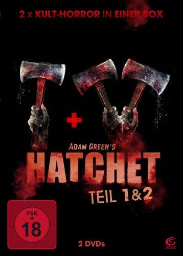 Preisvergleich Produktbild Adam Greens Hatchet 1 & 2 - 2x Kult-Horror in einer Box (2 DVDs)