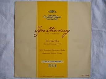 "DG 17003 Stravinsky Petrouchka RIAS Berlin Ferenc Fricsay 10"" LP"