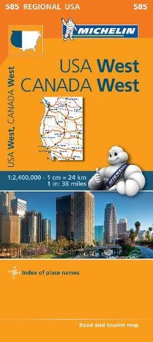 USA West, Canada West 1:2.400.000