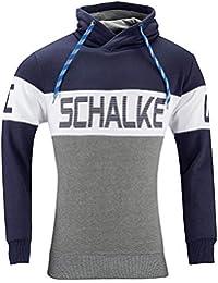FC Schalke 04 Contraste Capucha, Blanco, ...