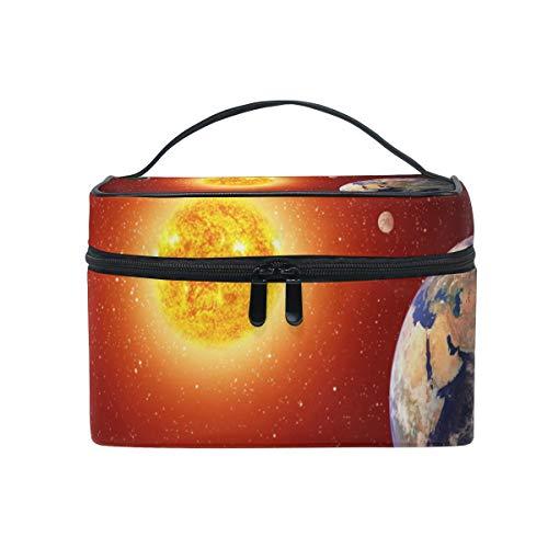 Make-up Kosmetiktasche Art Universe Solar System Portable Storage mit Reißverschluss -