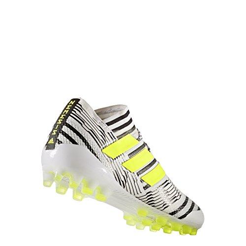 adidas Herren Nemeziz 17.1 Ag Fußballschuhe blanc/jaune fluo/noir