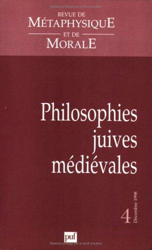 Philosophies juives médiévales par Collectif