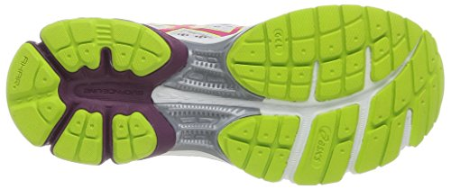 ASICS Gel-Pulse 6, Chaussures Multisport Outdoor Femmes Blanc (0121-White/Raspberry/Lime)