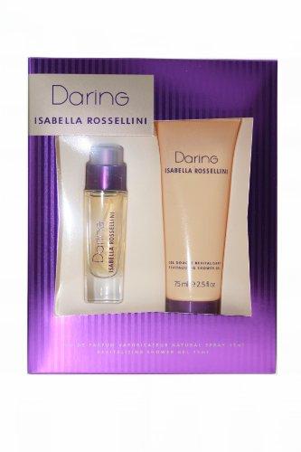 Preisvergleich Produktbild Isabella Rossellini Daring Set Eau de Parfum 15 ml + Duschgel 75 ml OVP
