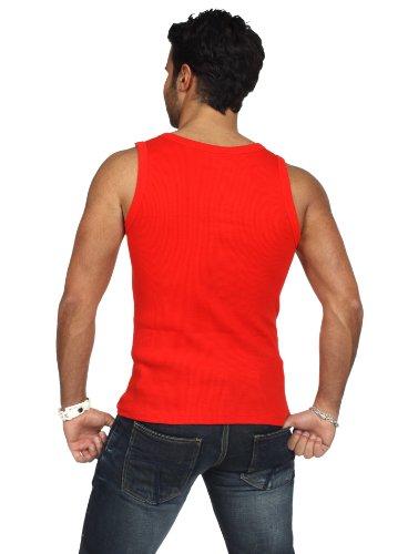 Urban Classics - Mens Tanktop TB066 T-Shirt Männer Schwarz Rot