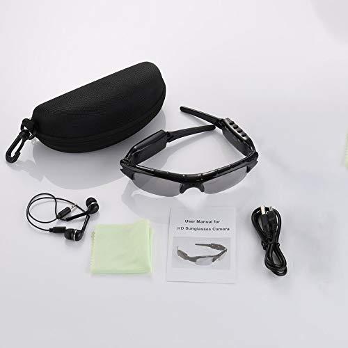 Sport im Freien Reiten DV-Kamera + MP3-Karte Sonnenbrille, Unterstützung TF-Karte Karte