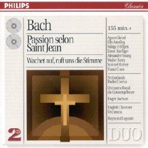 La Passion selon St-Jean / Cantate BWV 140
