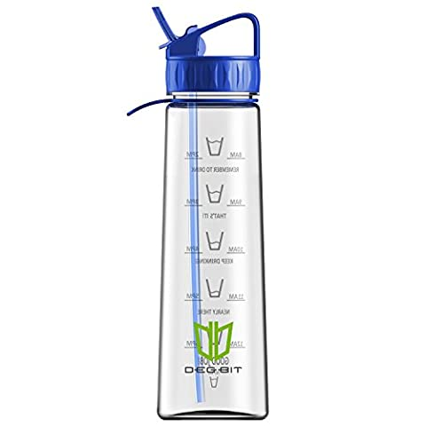 Water Bottle, Degbit® [900 ml/ 32oz] BPA Free Sports Water