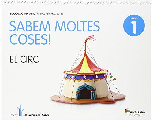 SABEM MOLTES COSES NIVELL 1 EL CIRC - 9788498078022