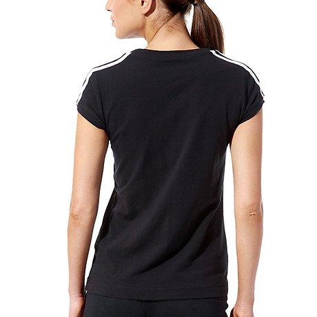 adidas Damen T-shirt Essentials, E18676 Black/White