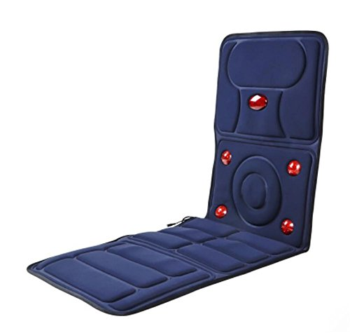 LIU Massage Chair/Massage Seat Cushion,9 Groups With Heating Lamp Massage Head,8 Kinds Of Mode, 9 Kinds Of Intensity Adjustment, Timing, GZ-9 At Home, Office And In Car