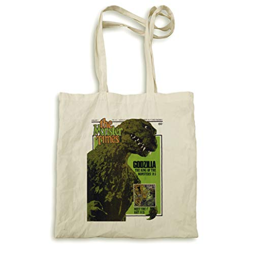 The Monster fois No 23 Godzilla sac naturel