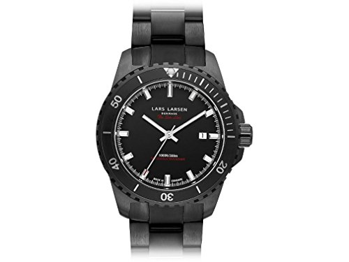 Mens Lars Larsen Sea Lion Watch 150CBCB