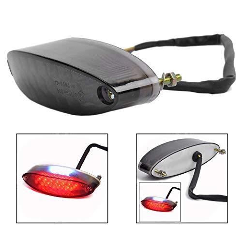 Xrten Universal LED Motorrad Rücklicht,Motorrad Heckleuchten Rückleuchte(Rot) (Rückleuchte Motorrad Led)