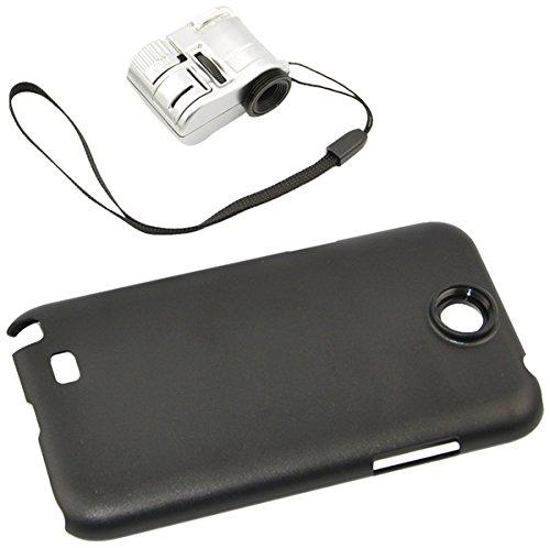 Apexel Mikroskop-Aufsatz für Handys, 50cm Brennweite, Aluminium Für Samsung Galaxy Note 2 N7100...