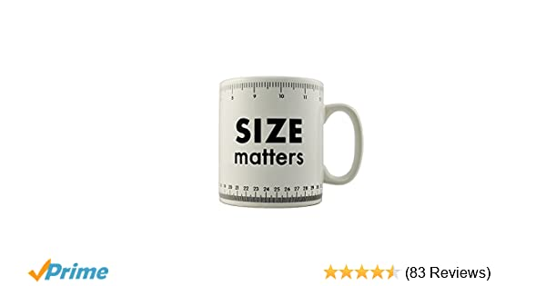 694f3888147 Size Matters Giant Mug - Large Novelty Tea & Coffee Cup: Amazon.co.uk:  Kitchen & Home