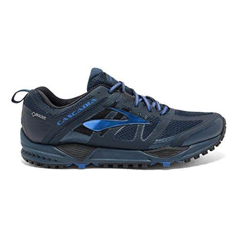 Brooks Herren Cascadia 11 Gtx Laufschuhe dunkelblau / schwarz