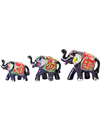 Koushalya Handicraft 10 Pair Of Decorative Elephant For Home & Office Décor,Also Use For Festival Gift Greeting.