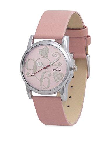 Dezine Analog Pink Dial Women's Watch - DZ-LR009-PNK-PNK