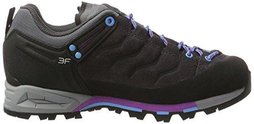 Salewa Ws Mtn Trainer, Chaussures de Randonnée Femme Gris (Magnet/haze 0672)