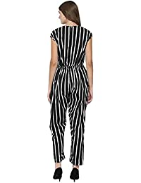 2d18d836d7 Amazon.in  Crepe - Jumpsuits   Dresses   Jumpsuits  Clothing   Accessories