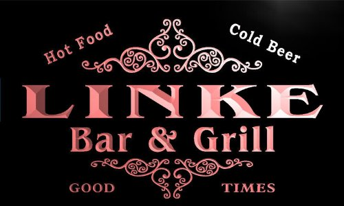 u26586-r-linke-family-name-bar-grill-home-beer-food-neon-sign-enseigne-lumineuse