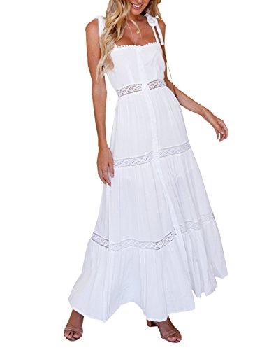BMJL Vestido - para mujer Blanco blanco M=40