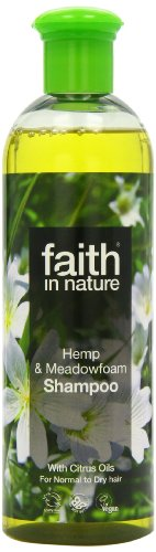 Faith In Nature Hanf und meadowfoam Shampoo 400 ml (Hanf-shampoo-conditioner)