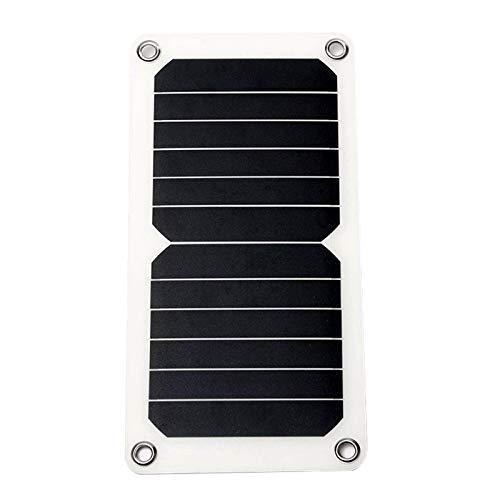 Noblik Dc5 Mono Solar Panels Batterie Ladegeraet Trickle Fuer Telefon Auto Boot Rv, 7W