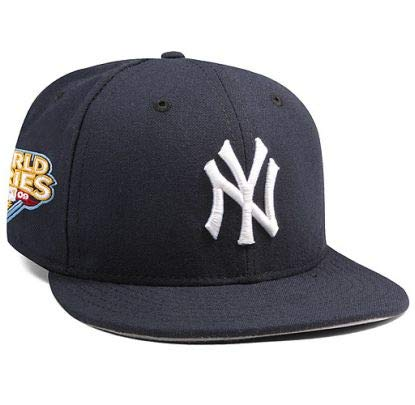 New York Yankees Mariano Rivera 2009 World Series Patch 59FIFTY Fitted Cap by New Era Size 6 7/8