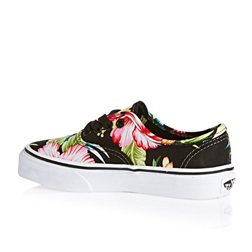 Vans K Authentic, Baskets mode mixte enfant Noir