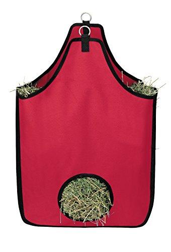 Weaver Leder 35-1384-rd Heu Tasche, Rot -