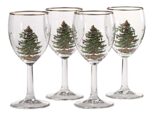 Spode Wein Glas Set, aus Glas, Mehrfarbig, Set von 4