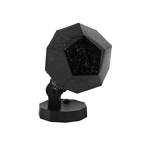 VOVOVO Sternenklare Nachtlichtprojektor mit 3 Farben der Lampen, Fantasy Sky Map Projektor, DIY Montage Kid Schlafzimmer Geschenk Lampe für Geburtstagsfeier