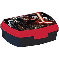 p:os 25629–Scatola portamerenda Disney Star Wars, 17x 13,5x 5,5cm