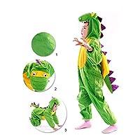 Children 3D Cartoon Dinosaur Animals Cosplay Costumes, Children Boys Girls Party Cosplay Fancy Dress Complete Clothes