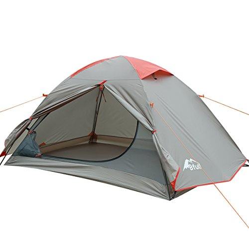 Camping tent, Portable Folding Waterproof Outdoor tent for hiking climbing Dome Durable Camping for 1-3 Persons